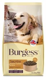 Burgess dog sensitive schotse zalm / rijst 12,5 kg