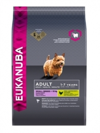 Eukanuba dog adult small breed chicken 12 kg