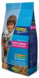 Canex puppy/junior brocks large breed 12,5 kg